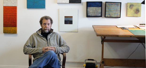 Jeff Julin in his Salt Lake Studio