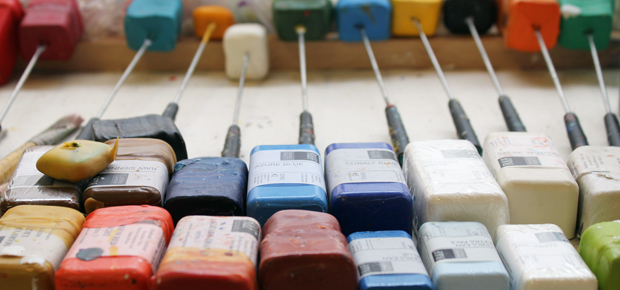 Encaustic pigments