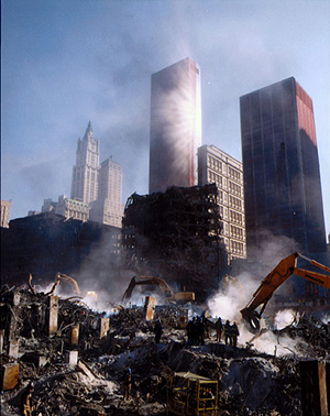 from Ater September 11th: Images of Ground Zero, by Joel Meyerowitz