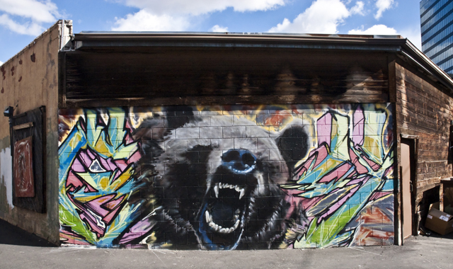 Salt Lake City Graffiti Wall Comes to an End | Utah State Line