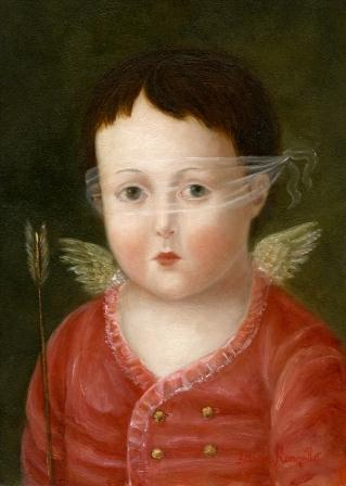 Cupid With Mask by Fatima Ronquillo