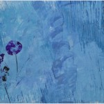 Flowers on Blue, 2012