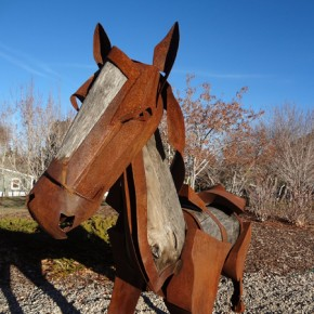 James Burnes Sculpture Installed in Park City
