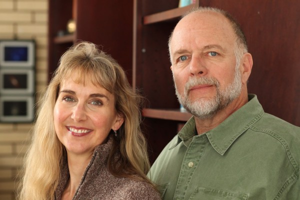 Mark Bailey and Kirsten Allen, founders of Torrey House Press.