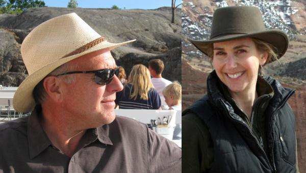 Mark Bailey and Kirsten Allen of Torrey House Press.