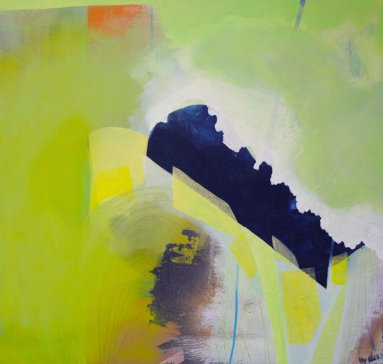 Rinsed by Andrea Jensen, on exhibit at Finch Lane Gallery.