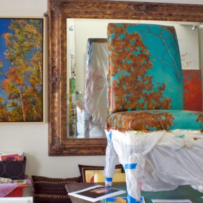 Janell James' Studio Space