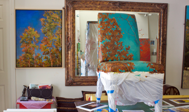 Janell James&#039; Studio Space