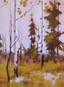 """Respite"", oil on canvas, 48 X 36 inches"