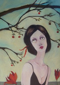 Painting by Cassandra Barney
