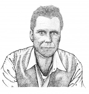 Calvin Haul (Ink rendering by Salt Lake City artist Timm Paxton)