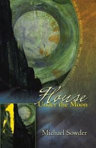House under moon