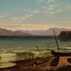 Alfred Lambourne's Great Salt Lake at the UMFA