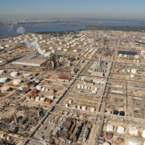 CLUI's Houston Petrochemical Corridor Landscan @ UMOCA