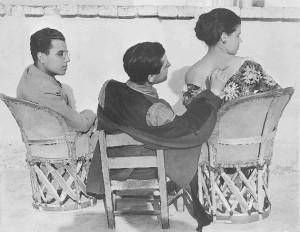 By Edward Weston: Carlos Mérida, Jean Charlot and Tina Modotti