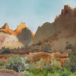 Light on the Reef: En Plein Watercolor Adventure in Capitol Reef