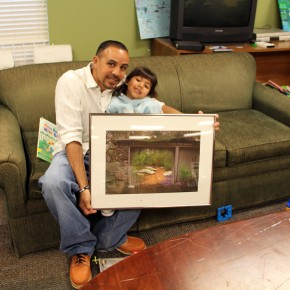 Art In Your Home Brings Fine Art to People in Transitional Housing