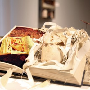 Altared Books at Finch Lane Gallery