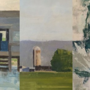 Musings on Space: Blake Luther, Anne Wolfer and Jill Barton at 15th Street Gallery