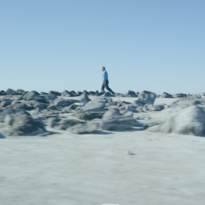 Jetty, a film featuring Julian Sands and Robert Smithson's iconic land art