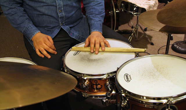 An Improvised Beat: Jesse Quebbeman Turley Drums His Way to Composition