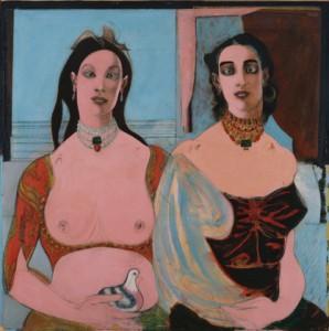 Two Sisters, John D. Graham, 1944