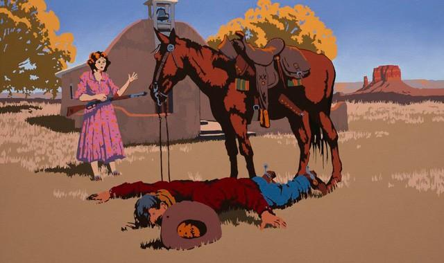 Billy Schenck at Modern West Fine Art