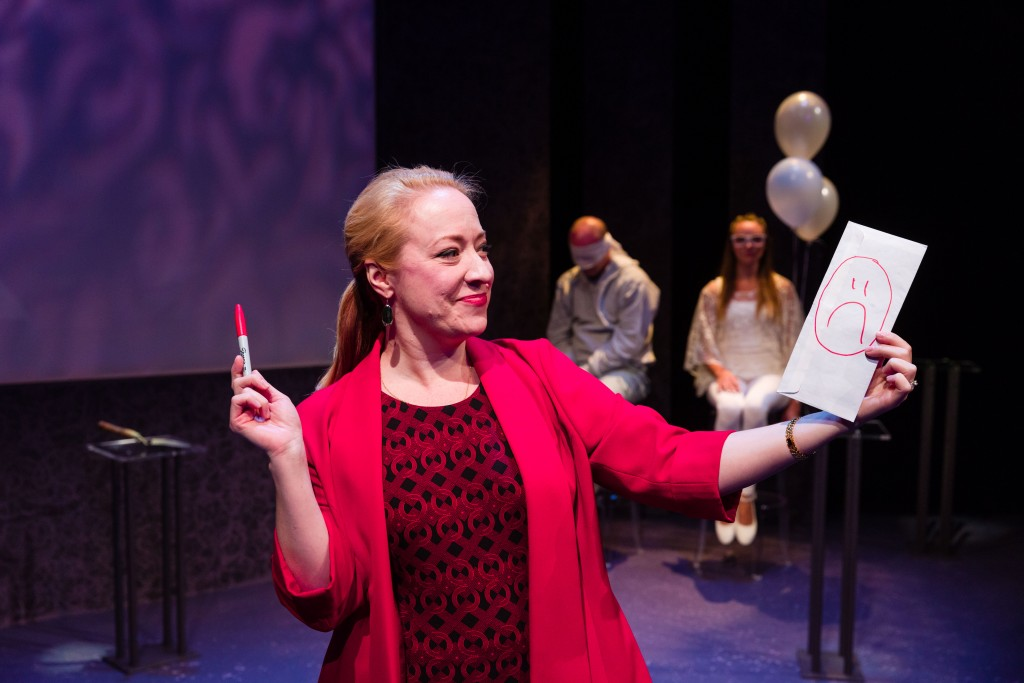 April Fossen as Vivenne Avery in Salt Lake Acting Company's Blackberry Winter, with