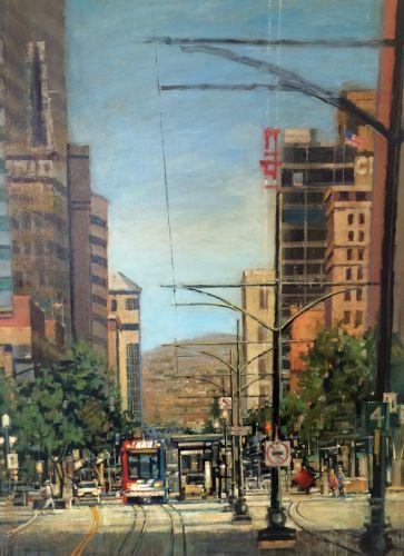 """Main Street Ride"" by Aaron Memmott"