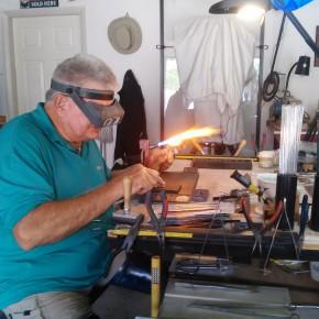 Capturing the Cosmos: Kayenta's glassmaking wizard John Kolb