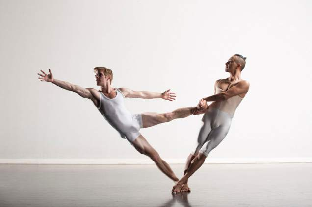 Tyler Orcutt (left) and Efron Corado Garcia. Photo by Chris Peddecord.