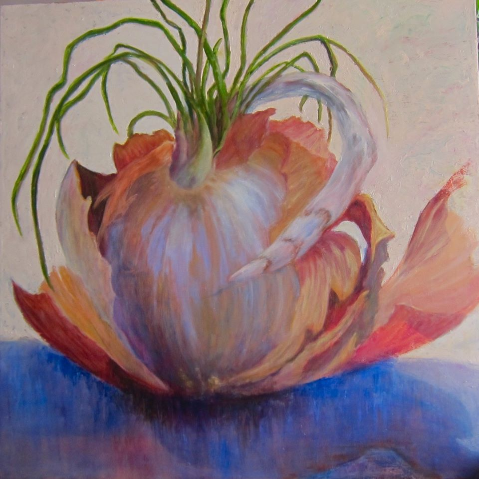 Antique Onion by Marian Dunn