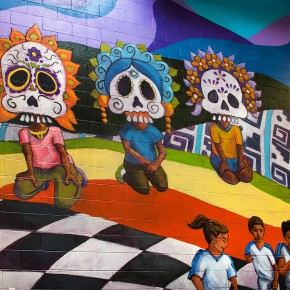 Language of Hope: New Mural at West Valley's Esperanza Elementary