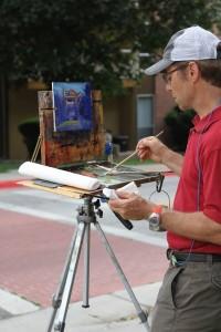 Rob Plein Air Painting