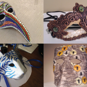 The Mask Exhibit @ The Utah Arts Festival Gallery