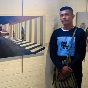 On the Border: Paintings from the Myanmar/Thailand Border Focus Attention on Refugee Populations