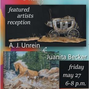 Featured Artists Reception: Juanita Becker, A. J. Unrien