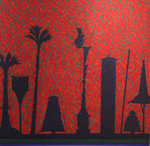 """Totems for Seurat"" by Walter Askin"