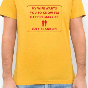 Reflections on Modern Manhood: Joey Franklin's My Wife Wants You to Know I'm Happily Married