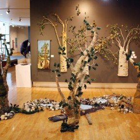 "Fiber Art Explores Meaning and Metaphor in ""Textures of Life"" at Dixie's Sears Museum"