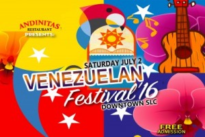 Venezuelan fest poster