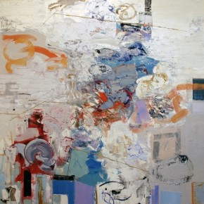 """""""Composition of Elements"""", Paintings by Chris Hayman at Julie Nester"""
