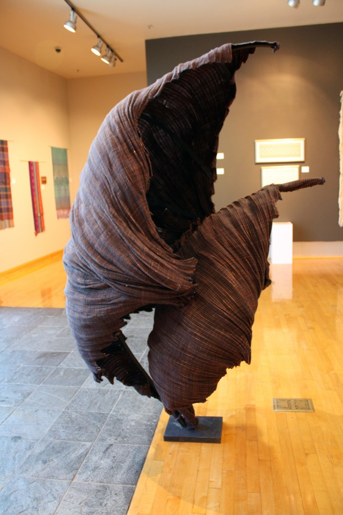 """The Protector"" by Kate Lawrence at Textures of Life, Dixie State University's Sears Art Museum"