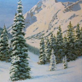 High Places Make Me: High Paintings by J. Calhoun