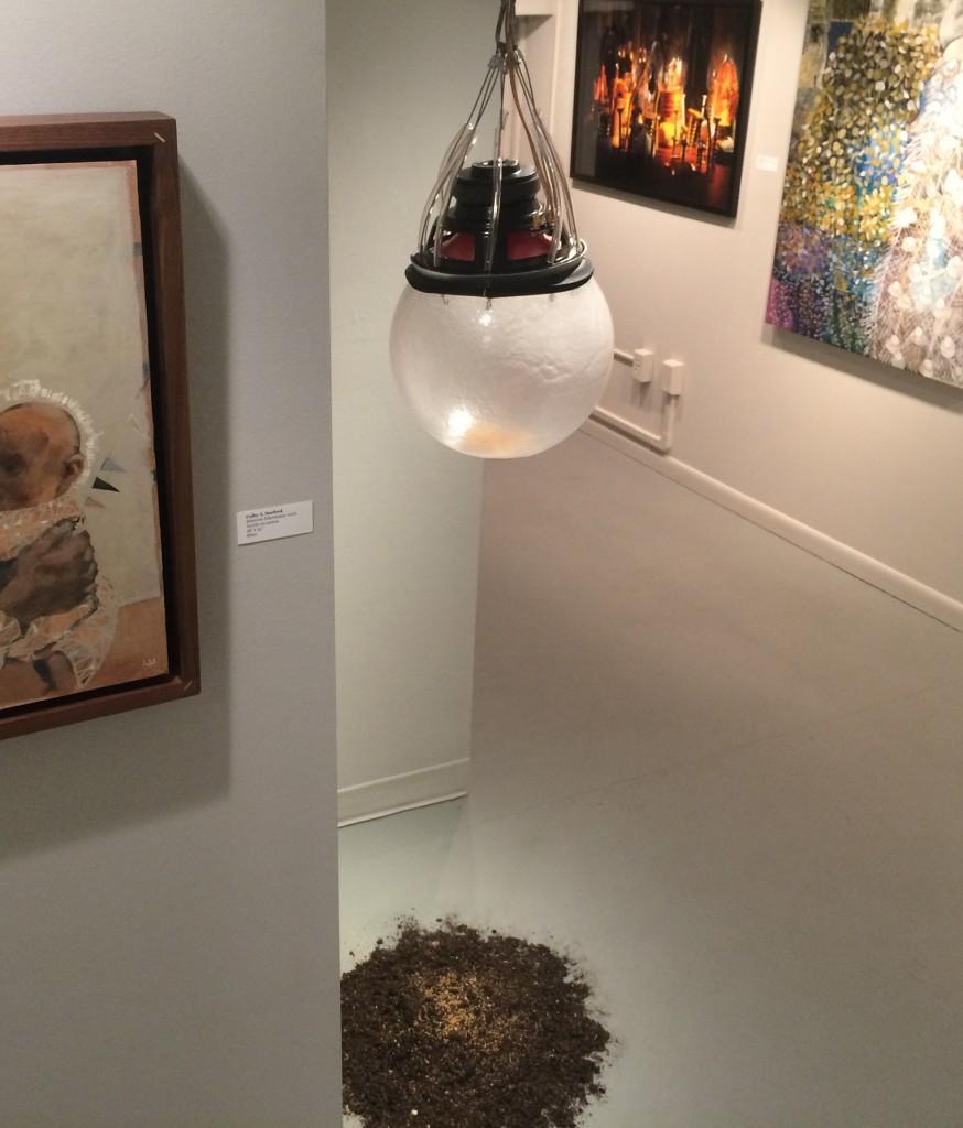 """Tatiana Svrckova Larsen's sound installation """"Subsistence"""""""