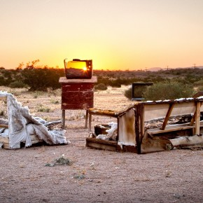 You've Got Junk: Benny van der Wal's Desert Trashscapes