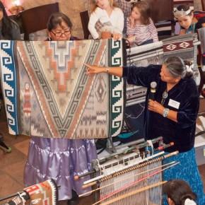 Adopt an Elder at the Navajo Rug Show and Sale, November 11 - 13