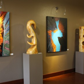 Lines in Nature: Recent Works by Justin Newby & Carol Bold