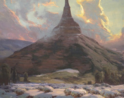 Painting on Hallowed Ground: A new exhibition and publication explore the landscapes of the Mormon Trail