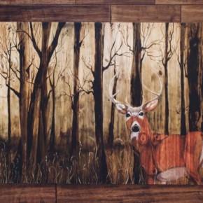 Spirit Animals: Mixed Media Paintings by Vatsala Soni Ranjan at Day-Riverside Library